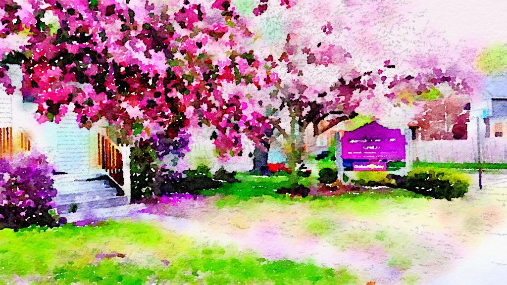"Waterlogue 1.2.1 (66) Preset Style = Bold Format = 8"" (Large) Format Margin = None Format Border = Straight Drawing = #2 Pencil Drawing Weight = Heavy Drawing Detail = Medium Paint = High Contrast Paint Lightness = Auto Paint Intensity = More Water = Tap Water Water Edges = Blurry Water Bleed = Average Brush = Fine Detail Brush Focus = Everything Brush Spacing = Medium Paper = Watercolor Paper Texture = Medium Paper Shading = Medium Options Faces = Enhance Faces"